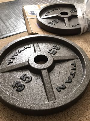 Olympic Weight Plates [BRAND NEW] for Sale in Las Vegas, NV