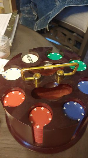 Poker Chip set for Sale in Lake Ann, MI