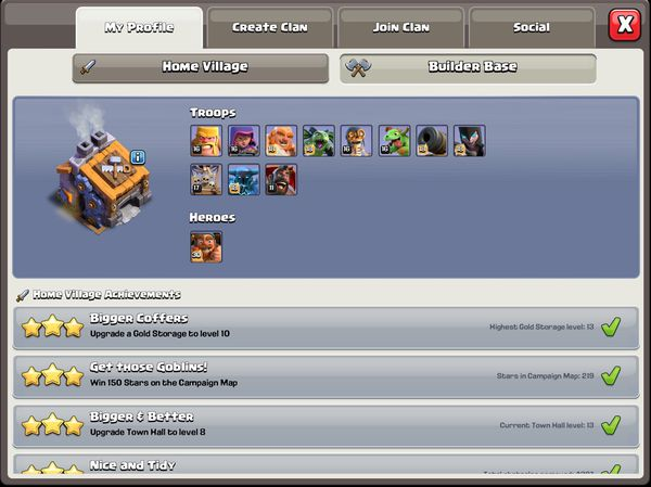 Clash of clans th13