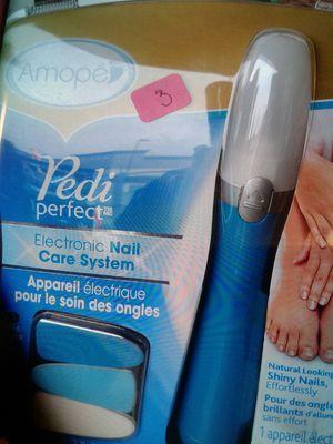 Pedi Perfect Electronic Nail System for Sale in Stockton, CA