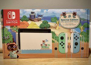 Brand New Animal Crossing Nintendo Switch for Sale in Springfield, VA