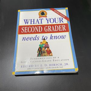 What Your Second Grader Needs To Know Book for Sale in Fremont, CA