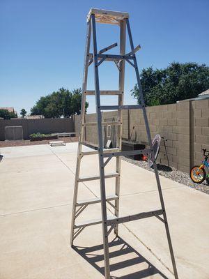 Ladder 8 foot Werner Aluminum for Sale in Peoria, AZ