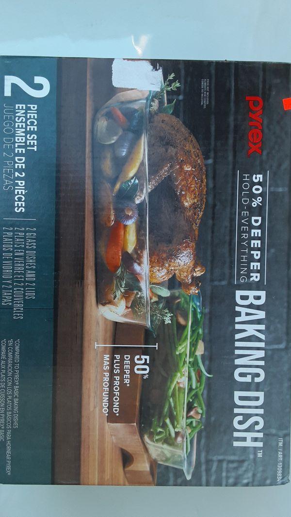 Pyrex Baking Dish - 4 PC Set