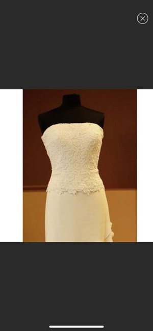 Size 12 wedding dress for Sale in Crestview, FL