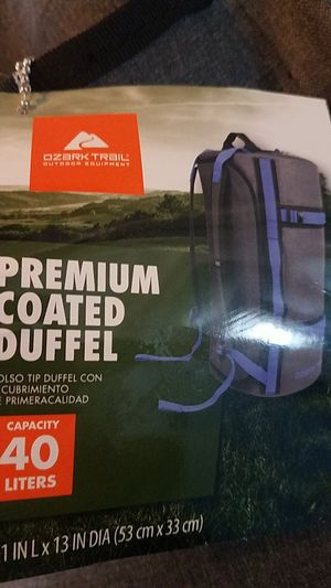 Premium Coated Convertible Duffle for Sale in Mundelein, IL