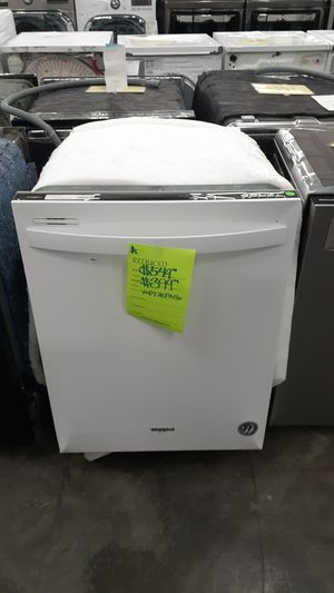 White whirlpool dish washer for Sale in Phillips Ranch, CA
