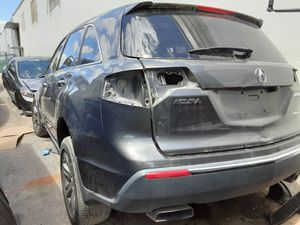 2011 Acura mdx parts parting out engine transmission front rear bumper cover right fender trunk tailgate left door for Sale in Hialeah, FL