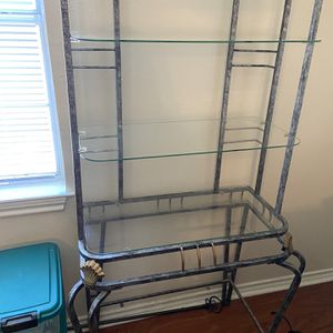 Bakers Rack and Book Shelves for Sale in Duncanville, TX