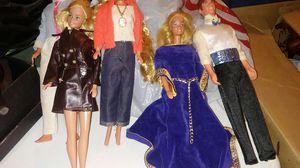 Vintage Barbie & Kens, see description for Sale in Carol Stream, IL