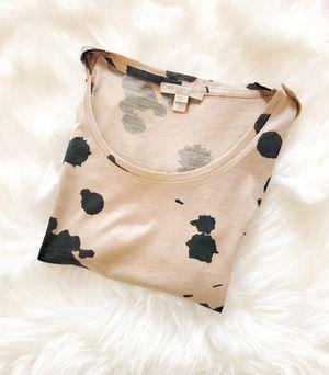 Burberry Brit Animal/Paint Splatter Short Sleeve Top Shirt for Sale in Frisco, TX
