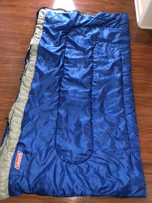 Blue Coleman Sleeping Bag for Sale in Milledgeville, GA