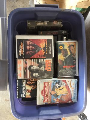 VHS TAPES for Sale in Reedley, CA