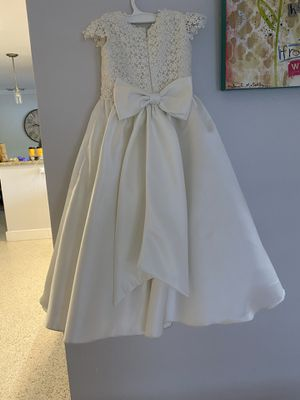 Flower girl dress custom made size 6/7 and 5/6 for Sale in Miami, FL