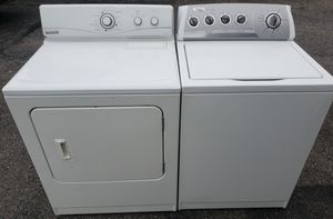 Washer and Electric Dryer for Sale in Reading, PA