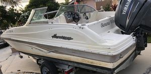 2006 hurricane deck boat with Yamaha 115hp for Sale in Miami, FL