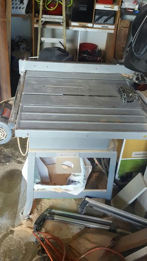 """Rockwell 10"""" table saw for Sale in Vancouver, WA"""