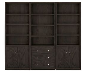 Room and Board Four-Door Wall Unit Cabinet Shelving Designer Excellent Condition for Sale in Los Angeles, CA