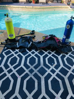Two Underwater Assist Buddies-Scuba Ready, everything you must have 2 enjoy the underwater world (no mask-fins or snorkel but who really needs those for Sale in Huntington Beach, CA