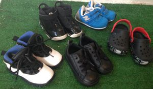Size 8c boy shoes sold all together for Sale in Hollywood, FL