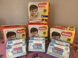 Huggies diapers size 4 for Sale in Joint Base Lewis-McChord, WA