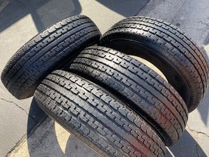 (4) 235/80R16 Mastercraft Trailer tires - $280 for Sale in Santa Ana, CA