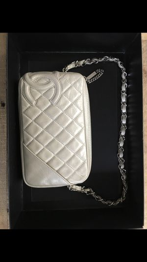 Authentic Vintage Chanel Purse - Light silver for Sale in Las Vegas, NV