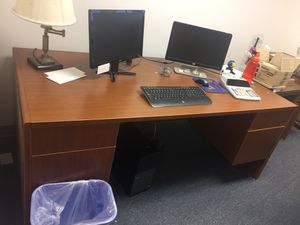 Large Executive Desk - with Drawers for Sale in Silver Spring, MD