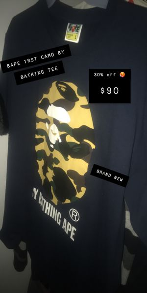 BAPE Tee Size L for Sale in Spring Valley, NY