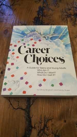 Career Choices A Guide for Teens and Young Adults for Sale in Lynchburg, VA