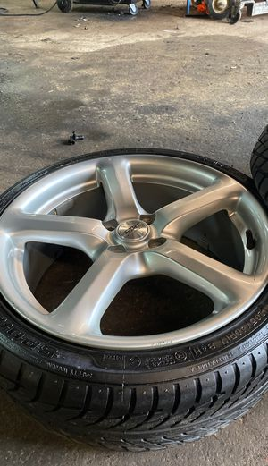 Honda Civic ring and tires for Sale in Ewing Township, NJ
