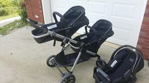 Evenflo stroller pivot expand single to double for Sale in Warrior, AL