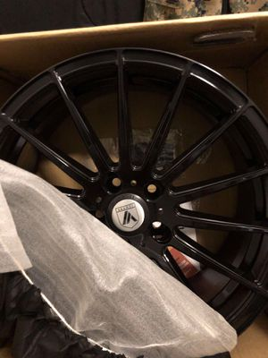 "Black Rims Asanti ABL-14 Polaris 19"" 8.5 for Sale in San Diego, CA"