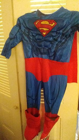 """Superman costume size """"toddler""""my guess is a 2 -3 (it only says toddler) for Sale in Lindenwold, NJ"""