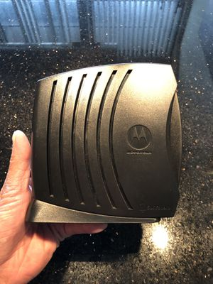 Motorola Cable Modem for Sale in Chicago, IL