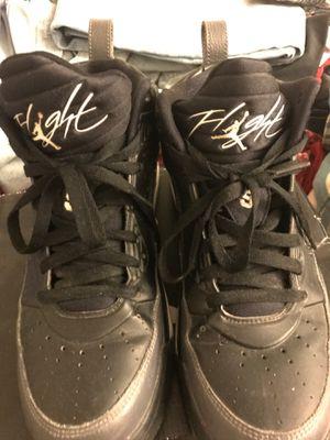 Air-Jordan, Flights, grey and black, 9 1/2 for Sale in Tucson, AZ