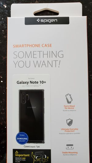 Samsung Galaxy Note 10 Plus case for Sale in Morton Grove, IL