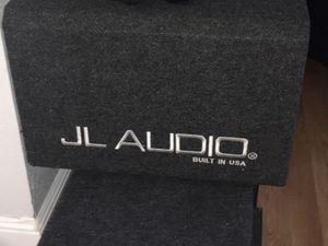 Woofer, JL Audio W6V3. Must go ASAP for Sale in Fremont, CA