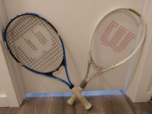 Two Tennis Rackets for Sale in Beaverton, OR