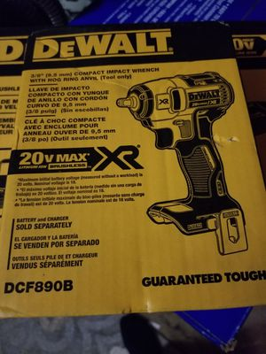 DEWALT 20-Volt MAX Lithium-Ion 3/8 in. Cordless Compact Impact Wrench (Tool-Only) for Sale in Elk Grove, CA