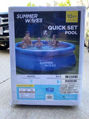 "Summer Waves 10' x 30"" Quickset Pool for Sale in Woodbridge, VA"