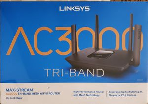 Linksys AC3000 Tri-Band Mesh Router for Sale in Philadelphia, PA