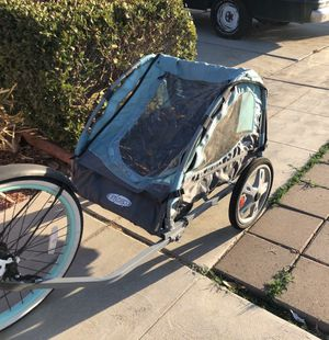 Bike trailer two seats for Sale in Fresno, CA
