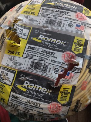 250 ft 12-2 Romex wire for Sale in Guadalupe, CA