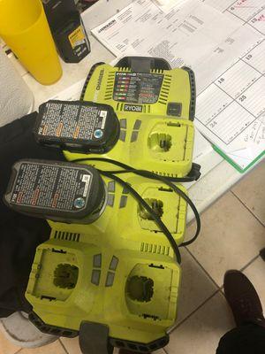 6 port charger 18v ryobi for Sale in Boca Raton, FL