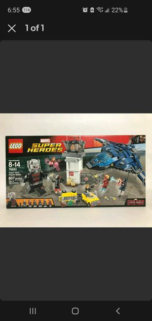 """LEGO Marvel Super Heroes - Super Hero Airport Battle (76051) or trade for 46"""" + TV for Sale in El Cajon, CA"""