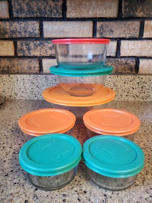 Pyrex storage with lids for Sale in Chicago, IL