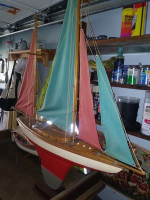 Wooden sailboat for Sale in Swansea, MA