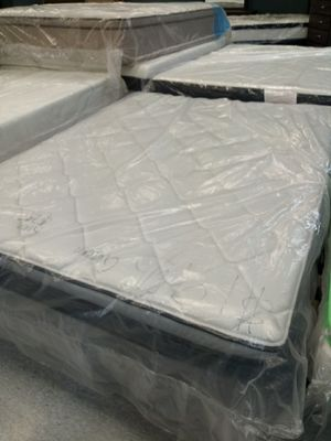Queen pillow tops mattreses195 for Sale in Columbus, OH