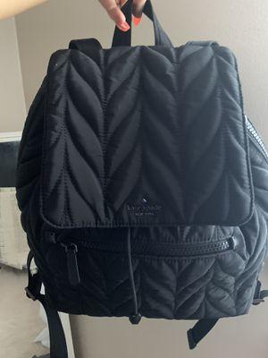 Kate spade black vinyl backpack for Sale in Brooklyn, OH